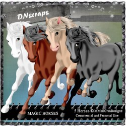 Magic horses cu mix