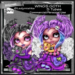 Wings goth