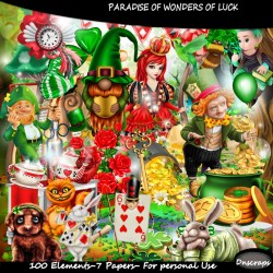 Paradise of wonter of luck